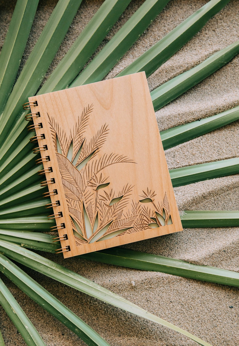 Bird of Paradise Wood Journal