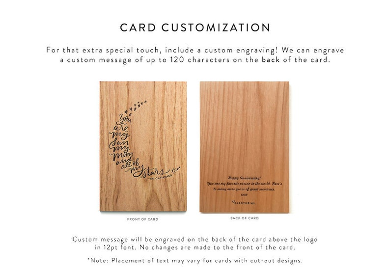Birthday Card Out of this World Birthday Wood Greeting Card