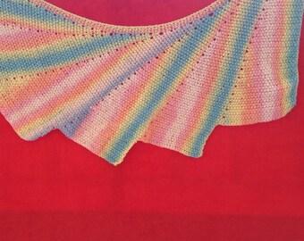Multicolor shawl 3