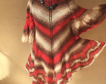Hand knitted dress Tounique