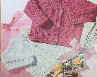5125345c221c UK EU SELLER Vintage pdf knitting pattern baby crew neck