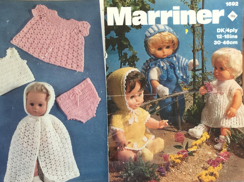 Ukeu Seller Buy 1 Get 1 Free Vintage Pdf Dolls Patterns Etsy