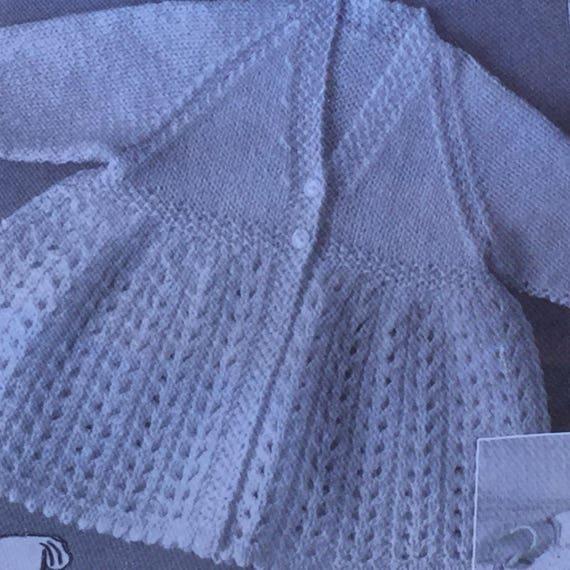 43072a2a6 UK EU SELLER Set of 3 Vintage pdf nursery knitting patterns