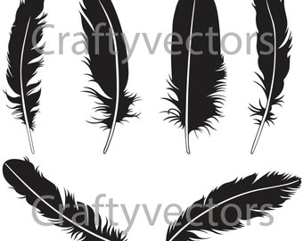 Feathers Vector File SVG