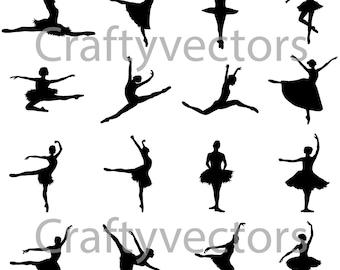 Ballerina vector file