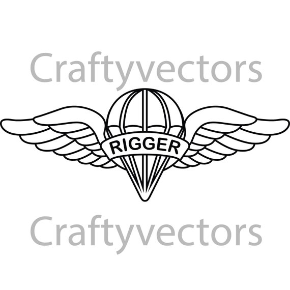Parachute Rigger Badge