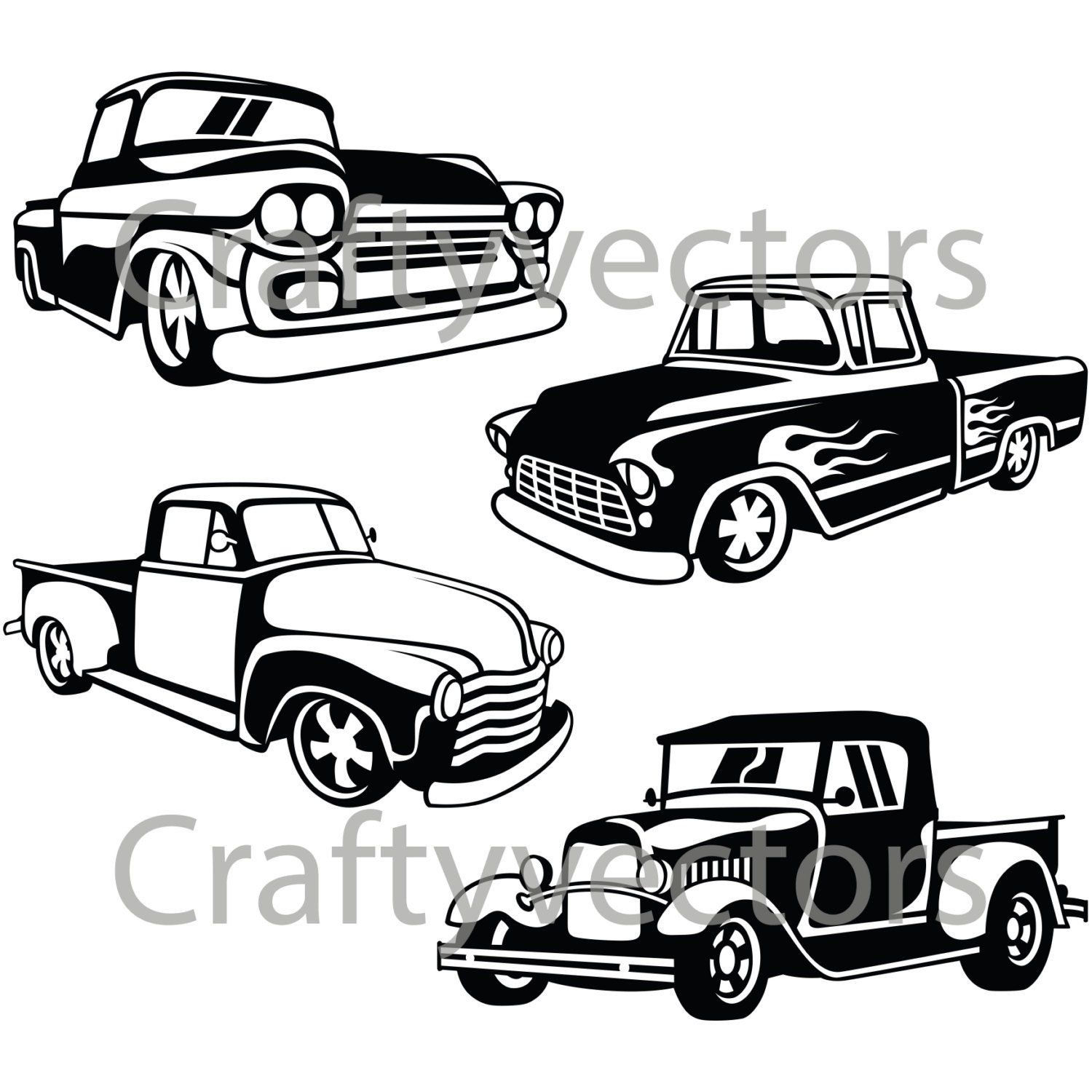 hot rod chevy trucks box wiring diagram 1982 Chevy Silverado Lifted hot rod trucks svg vector files etsy 1972 chevy truck hot rod