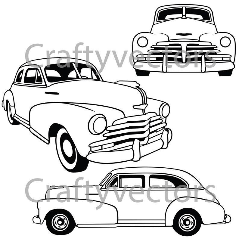 Chevrolet Fleetmaster 1948 Vector File
