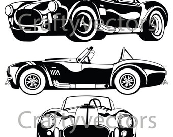 Shelby AC Cobra 67 Vector File