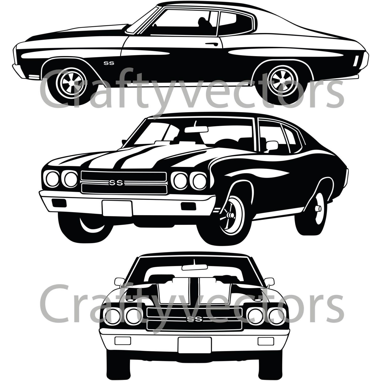 chevrolet chevelle super sport 70 etsy Chevy SS Lowrider 50