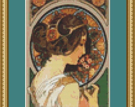 Cowslip Cross Stitch Pattern /Digital PDF Files /Instant downloadable