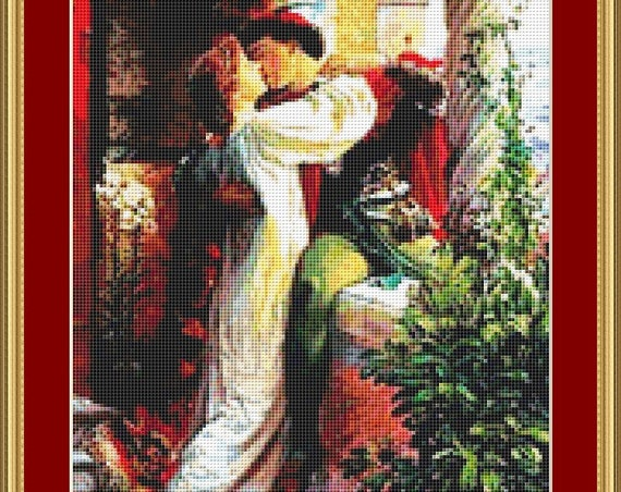 Romeo And Juliette Cross Stitch Pattern /Digital PDF Files /Instant downloadable