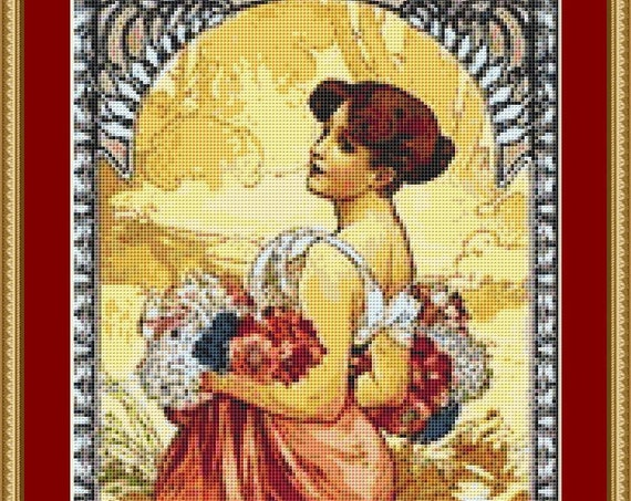 Ete Cross Stitch Pattern /Digital PDF Files /Instant downloadable