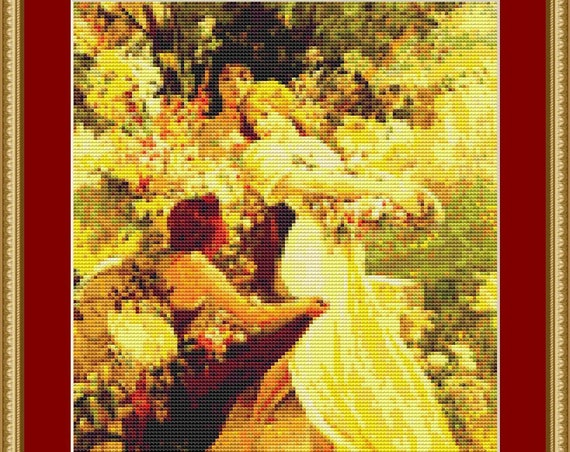 Spirit Of Spring Cross Stitch Pattern - Instant Downloadable / Digital PDF Pattern