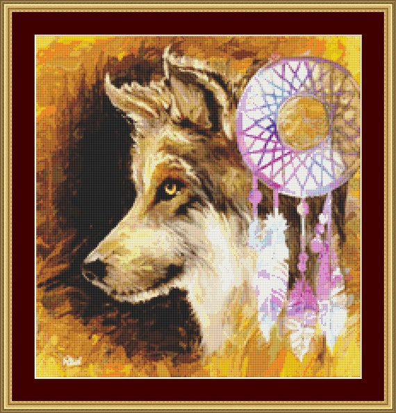 Dreamcatcher Cross Stitch Pattern - Digital PDF Downloadable Files