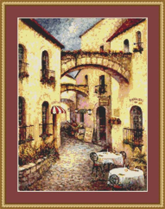 Buon Appetito II Cross Stitch Pattern /Digital PDF Files /Instant downloadable
