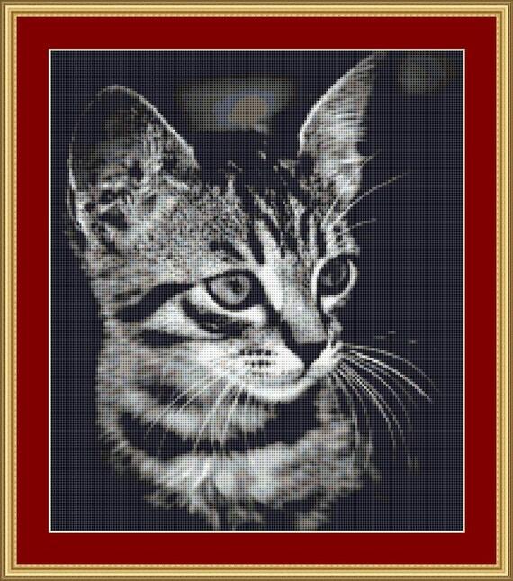 Lovely Little Creature Cross Stitch Pattern /Digital PDF Files /Instant downloadable