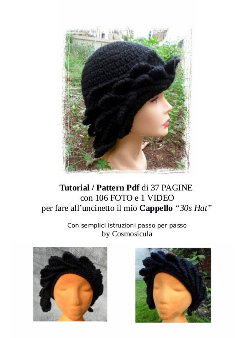 Italian Language Crochet Pattern Tutorial Pdf With Picture Etsy