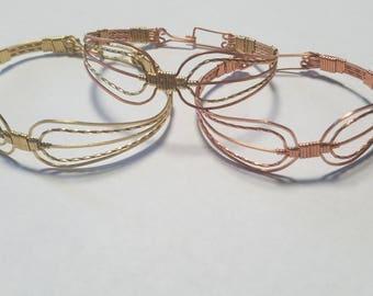 Rounded Aztec Bracelet
