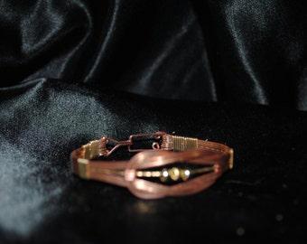 Copper Celtic Inspired bracelet.