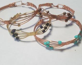 Bow Copper Bracelet