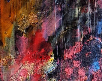 Abstract art abstract painting abstract canvas - art - home decor - fine art - wall art