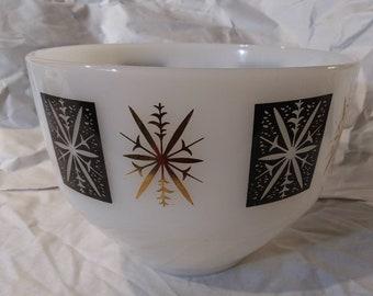 Blue Moderne Sabin Kresge/'s Atomic Starburst Bowl