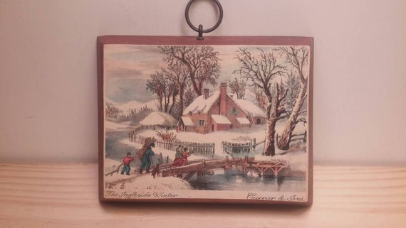 ac0970812c12 Currier and Ives The Ingleside Winter Lovely