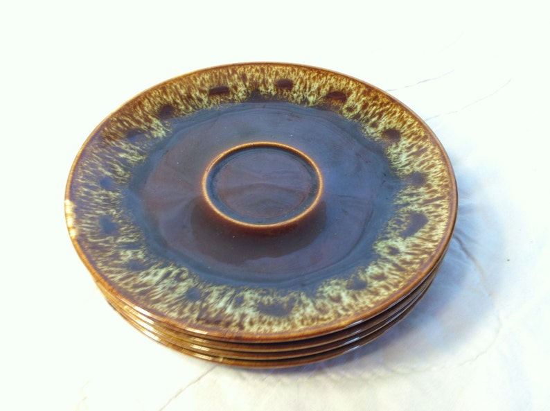 HARKER Pottery Quaker Maid RAWHIDE Collection SAUCER