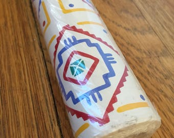 Southwest contact paper Aztec graphic drawer liner shelf paper craft supply etc. Native Art jumbo roll Contact USA