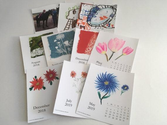 2019 diy create your own desktop desk calendar pdf gift