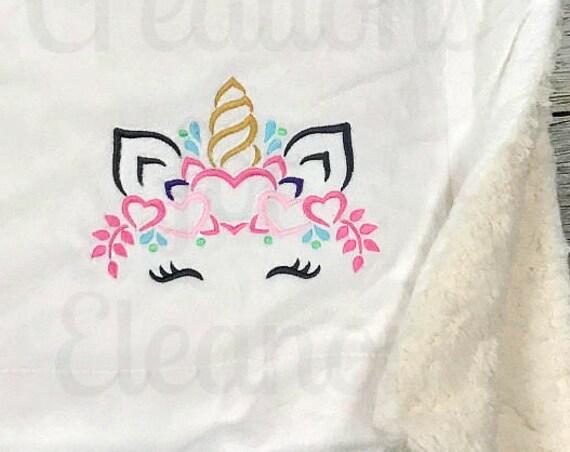 Unicorn Blanket, Unicorn Plush Blanket, Unicorn throw, Unicorn minky blanket, unicorn sherpa blanket, Unicorn throw, unicorn love, gift