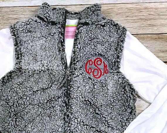 Girls Sherpa Vest
