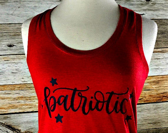 Fourth of July Tank Top, Fourth of July Shirt, Fourth of July Shirt Women, 4th of July, America Tank Top, America, 4th of July, Memorial Day