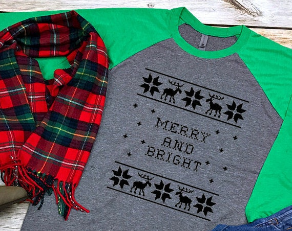 Christmas Sweater Raglan