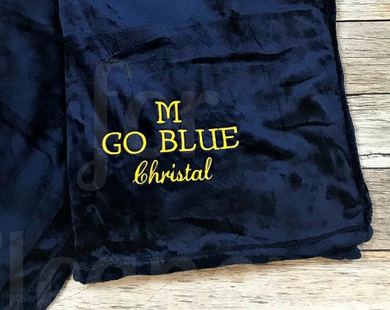 Personalized Blanket, Monogrammed Plush Blanket, Monogrammed Fleece Blanket, Plush Blanket, Monogram Blanket, Personalized Fleece Throw