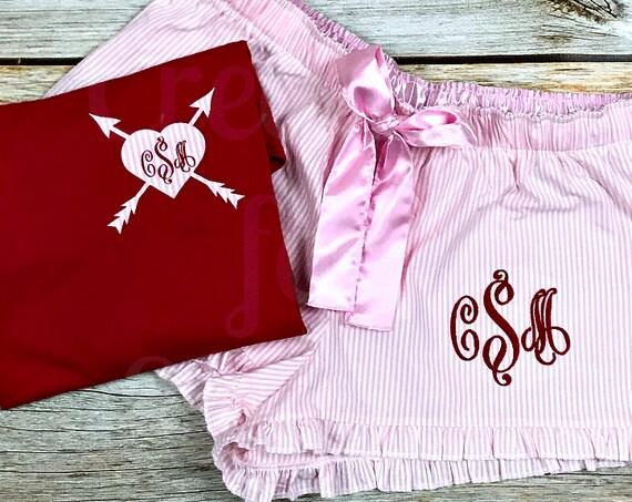 Valentines Day Pajama Set