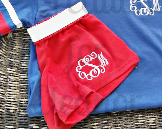 Girls Monogrammed Shorts, Girls Cheer Shorts, Girls Running Shorts, Girls Shorts, Girls Monogrammed Shorts, Cheer Shorts, Dance Shorts