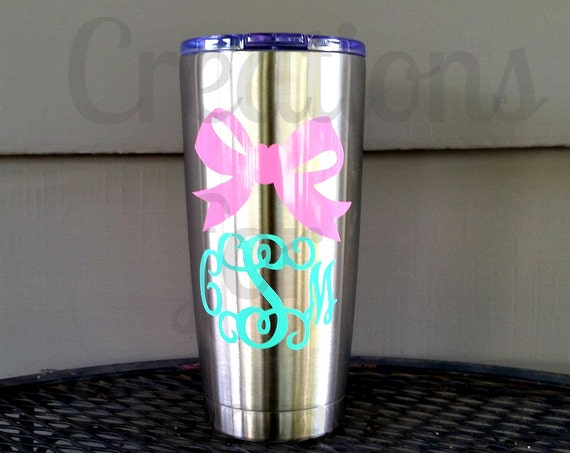 Monogrammed Stainless Tumbler, Personalized Cup, Personalized Insulated Cup, Bridal Party Gift, Monogrammed Tumbler, Tumbler, Bridesmaids