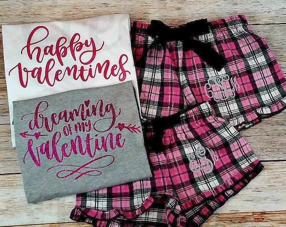Valentines Day PJs