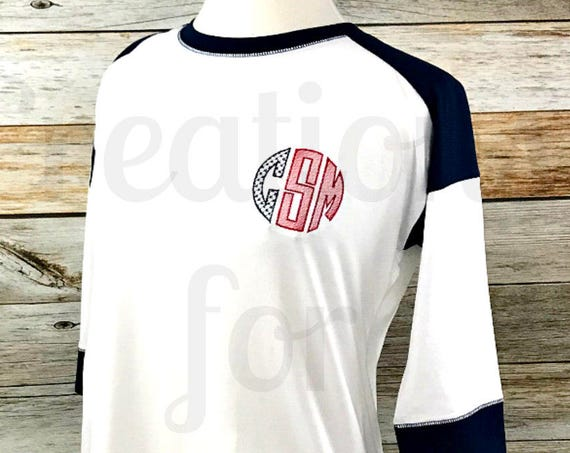 Women's Patriotic Raglan Shirt