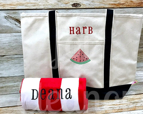Beach Tote and Towel