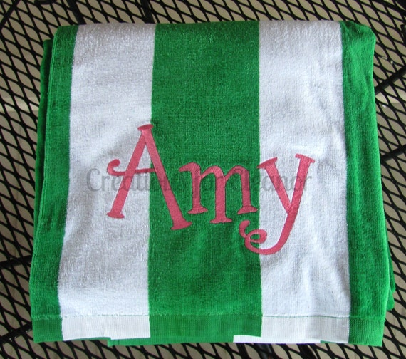 Monogram Beach Towel, Beach Towel, Monogrammed Towel, Personalized Towel, Monogram Towel, Bridesmaids Gift, Beach Towels, Gifts for Her