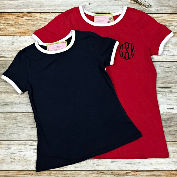 Women's Monogrammed T-Shirt