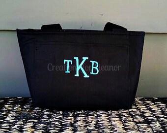 Monogram Lunch Bag, Monogram Lunch Box, Monogram Lunch Tote, monogram lunch, monogram lunch bag for adults, monogram lunch box for adults