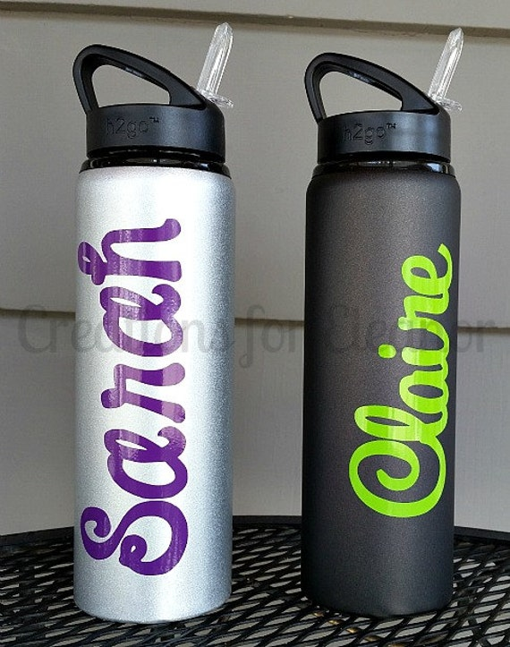 Personalized Water Bottle, Personalized Sports Tumbler, Personalized Sports Bottle, Monogrammed Water Bottle, Sports Bottle