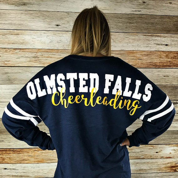 Cheerleading Shirt, Cheerleading Spirit Shirt, Girls Spirit Wear, Womens Cheerleading Shirt, Dance Shirt, Volleyball Shirt, Soccer Shirt
