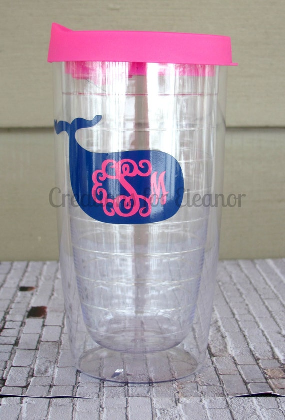 Monogrammed Tumbler, Personalized Tumbler, Monogrammed Coffee Mug, Monogram Tumbler, Hot/Cold Tumbler, Coffee Cup, Water Bottle