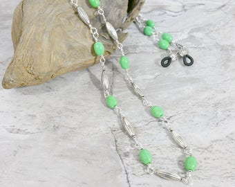 Chain for Eyeglasses or Beaded Necklace, New Grandma Gift Idea