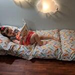 Kids Lounger / Pillow Bed / Nap Mat COVER